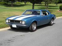 Unrestored 1967 Z/28