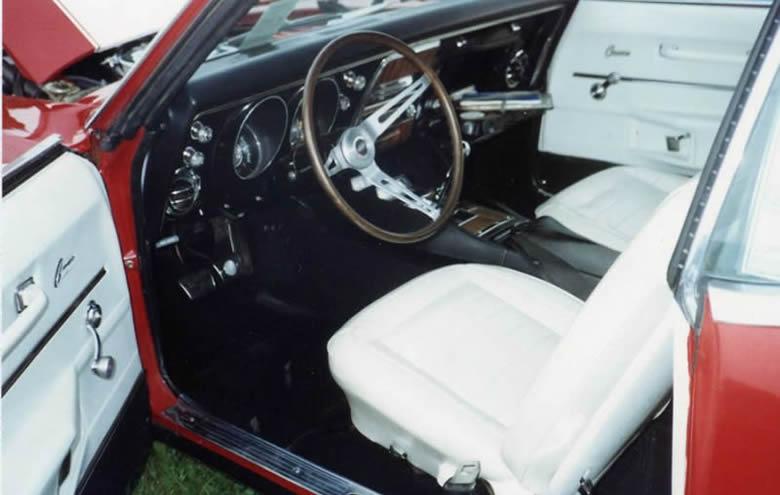1968 Z/28 Interior
