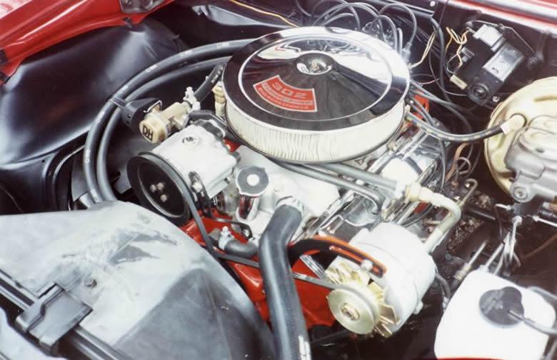 1968 Z/28 Engine