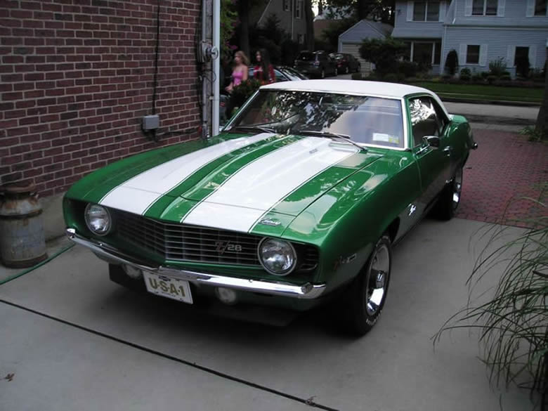 Brian's Rally Green 1969 Z28 Camaro.