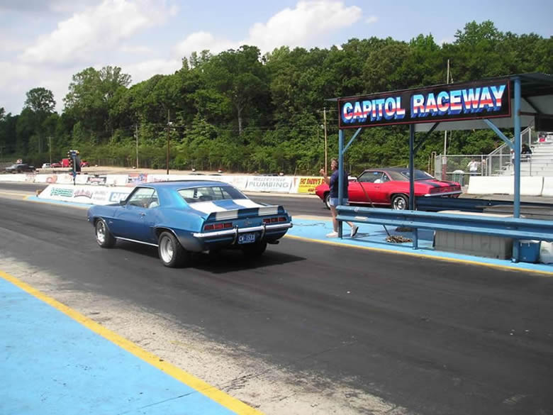 Gary & Joe at Capital Raceway